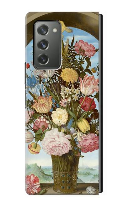 S3749 花瓶 Vase of Flowers Samsung Galaxy Z Fold2 5G バックケース、フリップケース・カバー