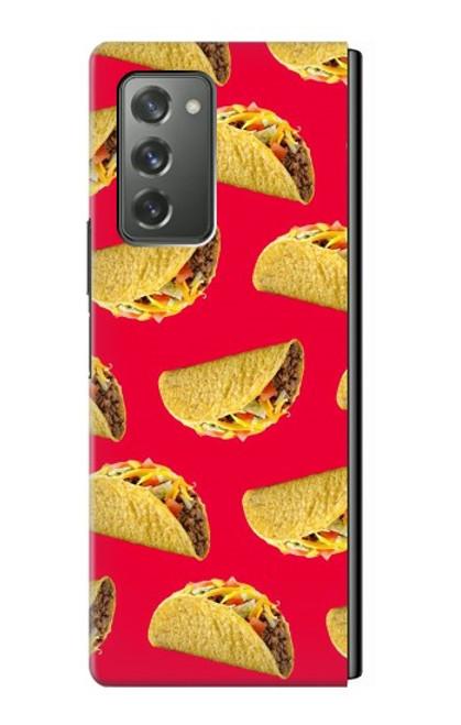 S3755 メキシコのタコスタコス Mexican Taco Tacos Samsung Galaxy Z Fold2 5G バックケース、フリップケース・カバー