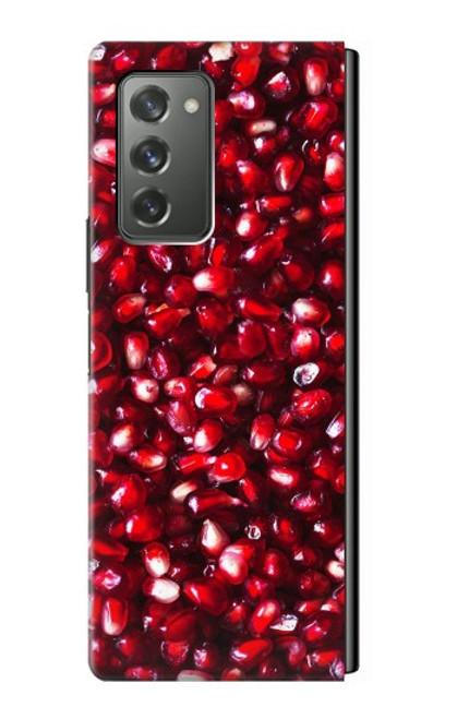 S3757 ザクロ Pomegranate Samsung Galaxy Z Fold2 5G バックケース、フリップケース・カバー