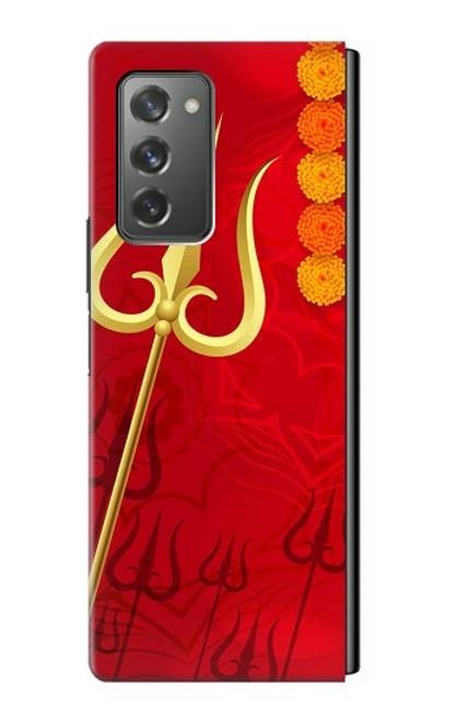 S3788 シブトリシューラ Shiv Trishul Samsung Galaxy Z Fold2 5G バックケース、フリップケース・カバー