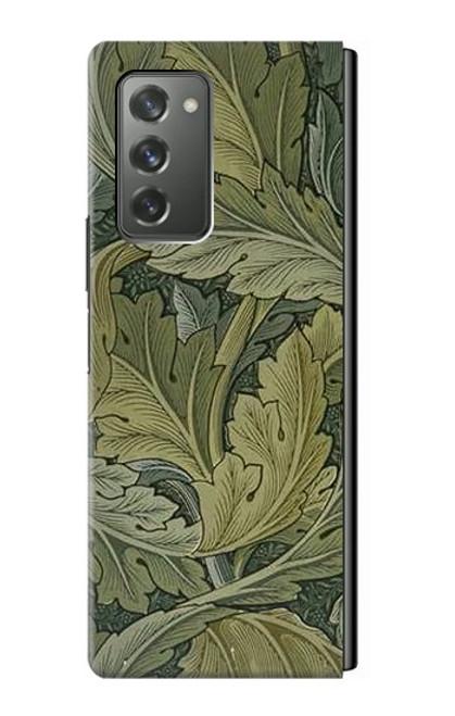 S3790 ウィリアムモリスアカンサスの葉 William Morris Acanthus Leaves Samsung Galaxy Z Fold2 5G バックケース、フリップケース・カバー