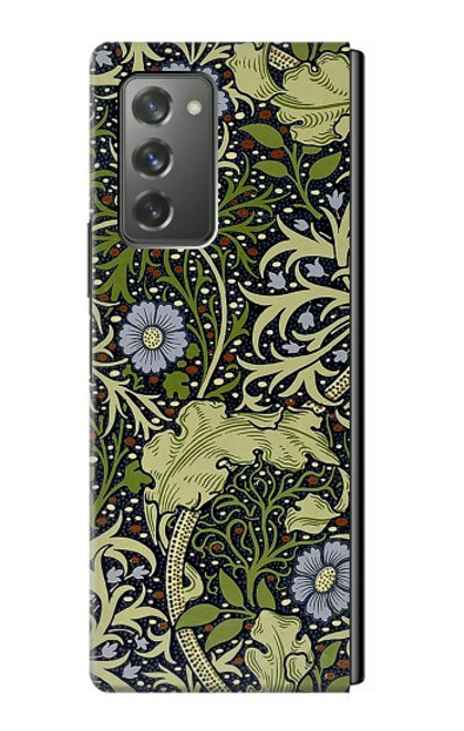 S3792 ウィリアムモリス William Morris Samsung Galaxy Z Fold2 5G バックケース、フリップケース・カバー