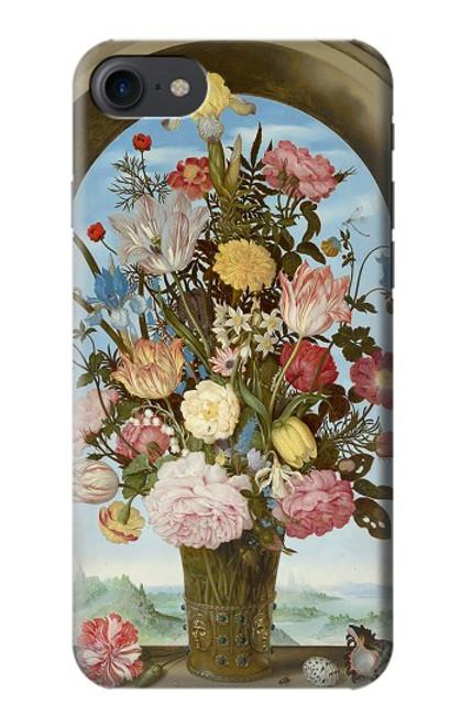 S3749 花瓶 Vase of Flowers iPhone 7, iPhone 8, iPhone SE (2020) バックケース、フリップケース・カバー