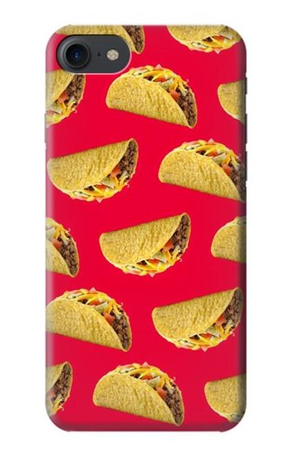 S3755 メキシコのタコスタコス Mexican Taco Tacos iPhone 7, iPhone 8, iPhone SE (2020) バックケース、フリップケース・カバー