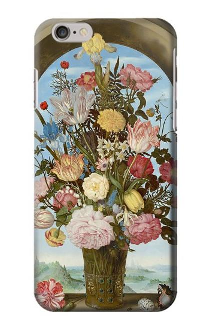 S3749 花瓶 Vase of Flowers iPhone 6 6S バックケース、フリップケース・カバー