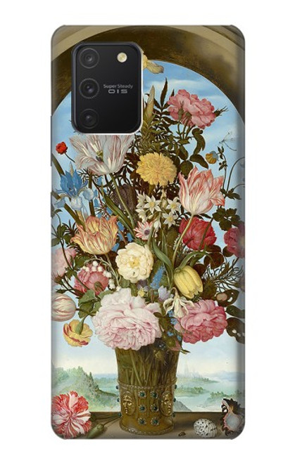 S3749 花瓶 Vase of Flowers Samsung Galaxy S10 Lite バックケース、フリップケース・カバー