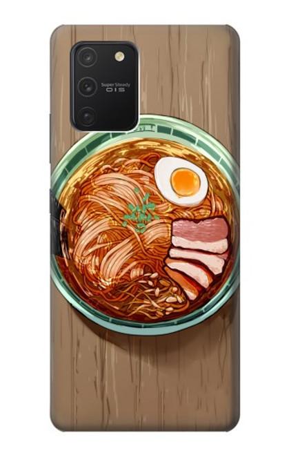S3756 ラーメン Ramen Noodles Samsung Galaxy S10 Lite バックケース、フリップケース・カバー