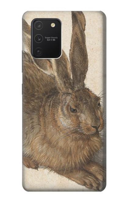 S3781 アルブレヒト・デューラー・ヤング・ヘア Albrecht Durer Young Hare Samsung Galaxy S10 Lite バックケース、フリップケース・カバー