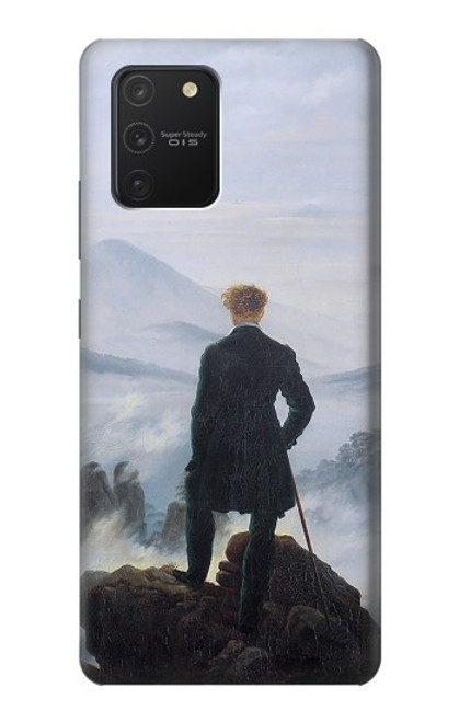 S3789 霧の海の上の放浪者 Wanderer above the Sea of Fog Samsung Galaxy S10 Lite バックケース、フリップケース・カバー
