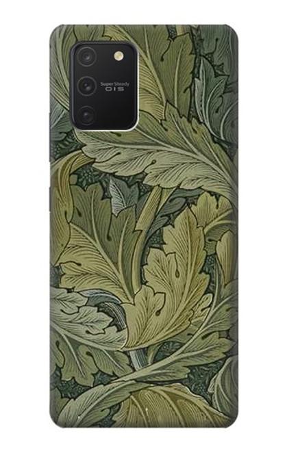 S3790 ウィリアムモリスアカンサスの葉 William Morris Acanthus Leaves Samsung Galaxy S10 Lite バックケース、フリップケース・カバー
