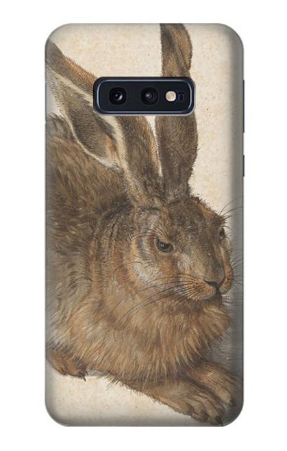 S3781 アルブレヒト・デューラー・ヤング・ヘア Albrecht Durer Young Hare Samsung Galaxy S10e バックケース、フリップケース・カバー
