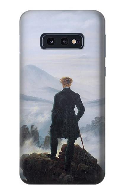 S3789 霧の海の上の放浪者 Wanderer above the Sea of Fog Samsung Galaxy S10e バックケース、フリップケース・カバー