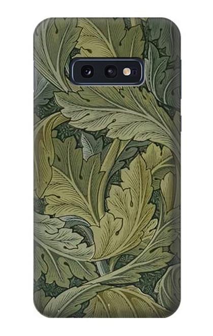 S3790 ウィリアムモリスアカンサスの葉 William Morris Acanthus Leaves Samsung Galaxy S10e バックケース、フリップケース・カバー