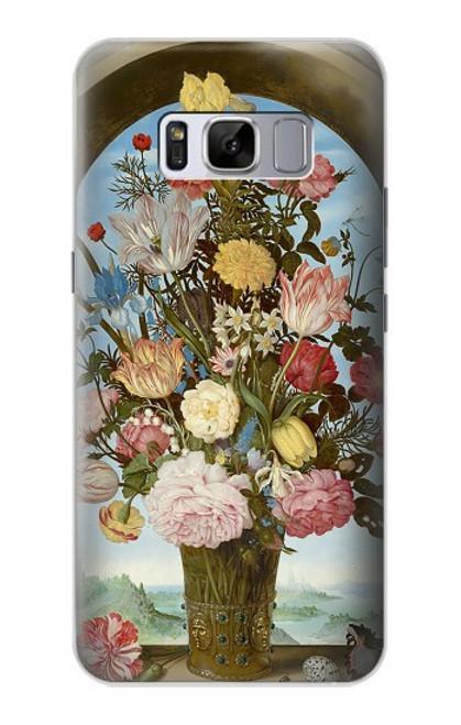 S3749 花瓶 Vase of Flowers Samsung Galaxy S8 Plus バックケース、フリップケース・カバー