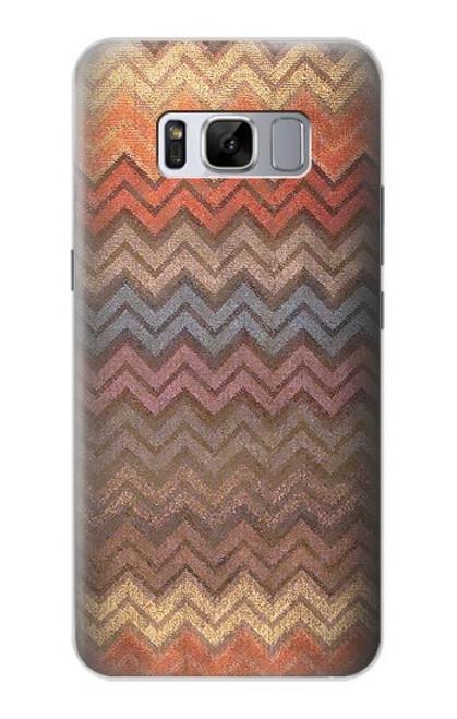 S3752 ジグザグ生地パターングラフィックプリント Zigzag Fabric Pattern Graphic Printed Samsung Galaxy S8 Plus バックケース、フリップケース・カバー