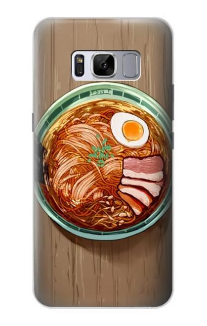 S3756 ラーメン Ramen Noodles Samsung Galaxy S8 Plus バックケース、フリップケース・カバー