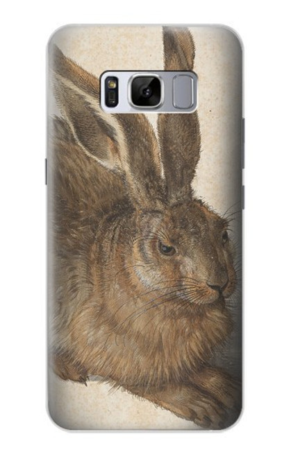 S3781 アルブレヒト・デューラー・ヤング・ヘア Albrecht Durer Young Hare Samsung Galaxy S8 Plus バックケース、フリップケース・カバー