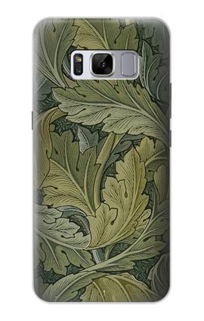 S3790 ウィリアムモリスアカンサスの葉 William Morris Acanthus Leaves Samsung Galaxy S8 Plus バックケース、フリップケース・カバー