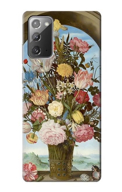 S3749 花瓶 Vase of Flowers Samsung Galaxy Note 20 バックケース、フリップケース・カバー
