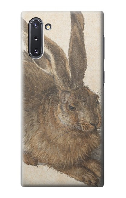 S3781 アルブレヒト・デューラー・ヤング・ヘア Albrecht Durer Young Hare Samsung Galaxy Note 10 バックケース、フリップケース・カバー