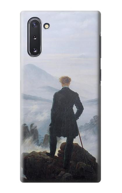 S3789 霧の海の上の放浪者 Wanderer above the Sea of Fog Samsung Galaxy Note 10 バックケース、フリップケース・カバー
