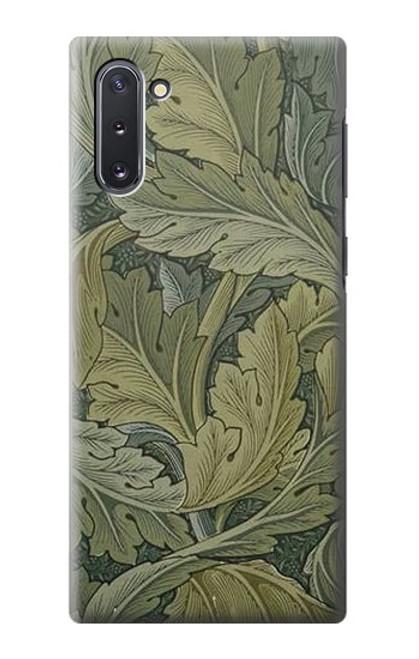 S3790 ウィリアムモリスアカンサスの葉 William Morris Acanthus Leaves Samsung Galaxy Note 10 バックケース、フリップケース・カバー
