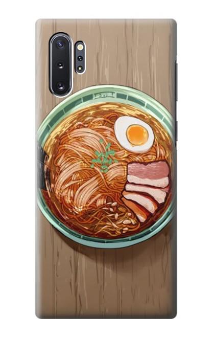 S3756 ラーメン Ramen Noodles Samsung Galaxy Note 10 Plus バックケース、フリップケース・カバー