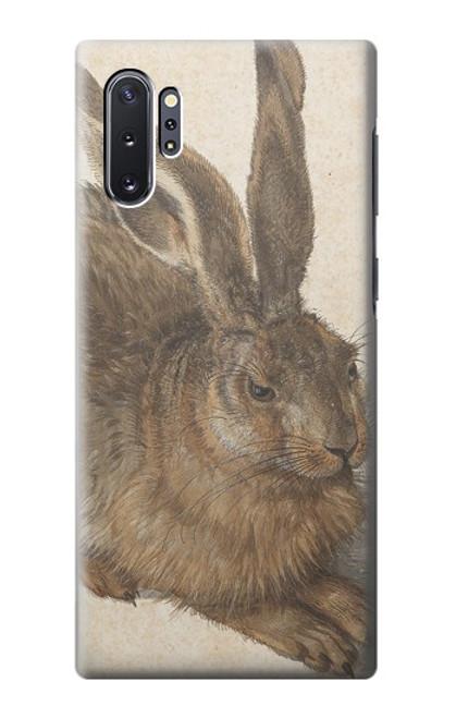 S3781 アルブレヒト・デューラー・ヤング・ヘア Albrecht Durer Young Hare Samsung Galaxy Note 10 Plus バックケース、フリップケース・カバー