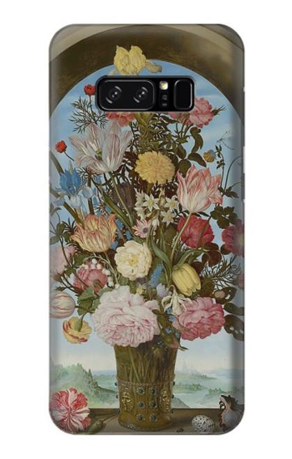 S3749 花瓶 Vase of Flowers Note 8 Samsung Galaxy Note8 バックケース、フリップケース・カバー