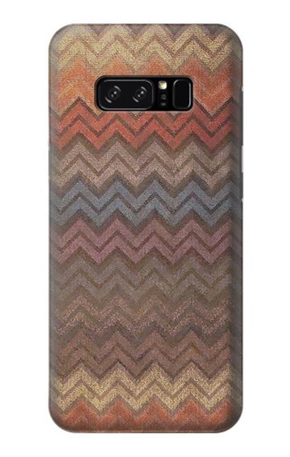S3752 ジグザグ生地パターングラフィックプリント Zigzag Fabric Pattern Graphic Printed Note 8 Samsung Galaxy Note8 バックケース、フリップケース・カバー
