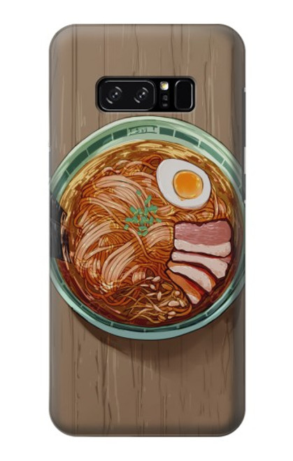 S3756 ラーメン Ramen Noodles Note 8 Samsung Galaxy Note8 バックケース、フリップケース・カバー
