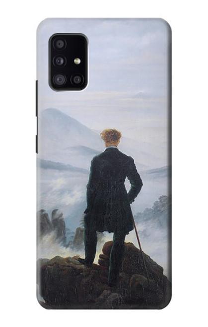 S3789 霧の海の上の放浪者 Wanderer above the Sea of Fog Samsung Galaxy A41 バックケース、フリップケース・カバー