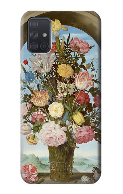 S3749 花瓶 Vase of Flowers Samsung Galaxy A71 バックケース、フリップケース・カバー