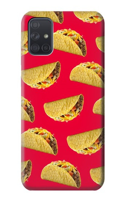 S3755 メキシコのタコスタコス Mexican Taco Tacos Samsung Galaxy A71 バックケース、フリップケース・カバー