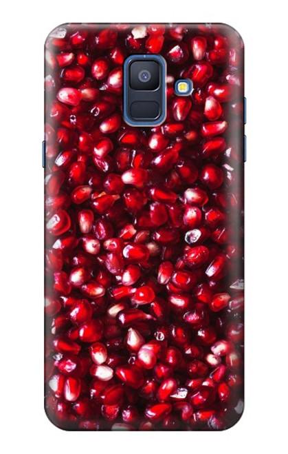 S3757 ザクロ Pomegranate Samsung Galaxy A6 (2018) バックケース、フリップケース・カバー