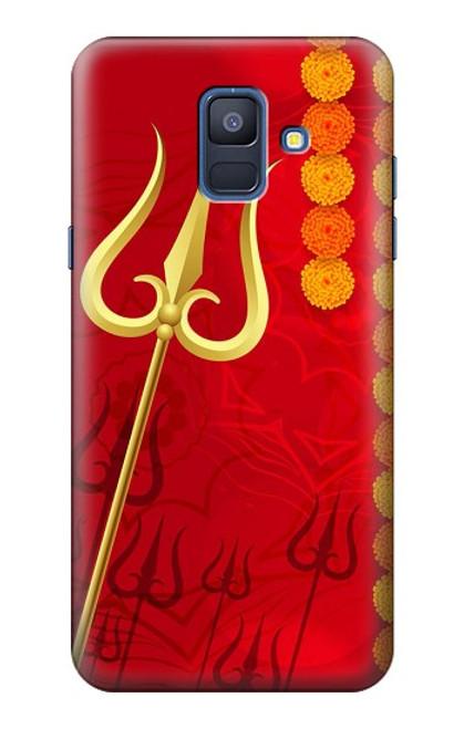 S3788 シブトリシューラ Shiv Trishul Samsung Galaxy A6 (2018) バックケース、フリップケース・カバー