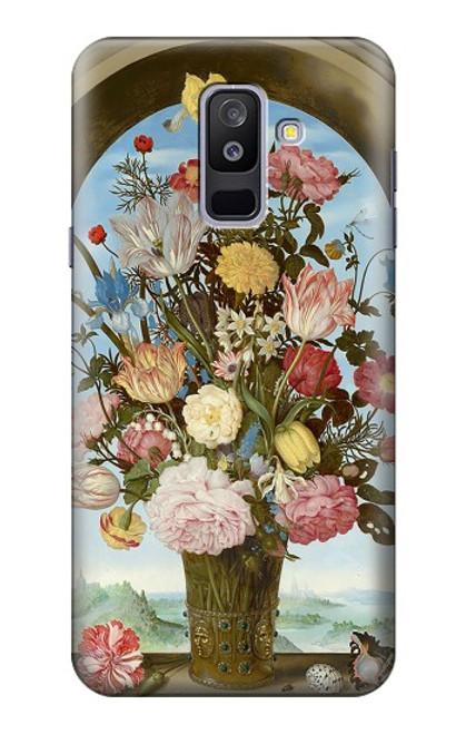 S3749 花瓶 Vase of Flowers Samsung Galaxy A6+ (2018), J8 Plus 2018, A6 Plus 2018  バックケース、フリップケース・カバー