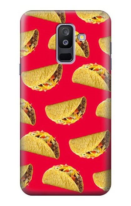 S3755 メキシコのタコスタコス Mexican Taco Tacos Samsung Galaxy A6+ (2018), J8 Plus 2018, A6 Plus 2018  バックケース、フリップケース・カバー