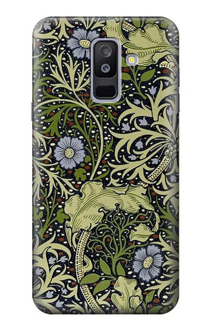 S3792 ウィリアムモリス William Morris Samsung Galaxy A6+ (2018), J8 Plus 2018, A6 Plus 2018  バックケース、フリップケース・カバー