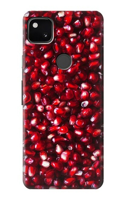S3757 ザクロ Pomegranate Google Pixel 4a バックケース、フリップケース・カバー