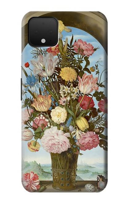S3749 花瓶 Vase of Flowers Google Pixel 4 XL バックケース、フリップケース・カバー