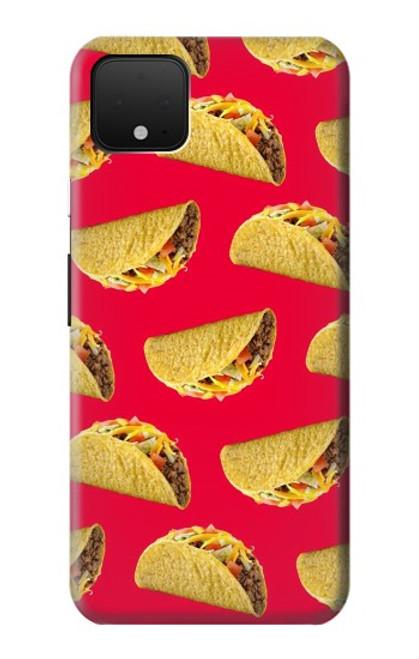 S3755 メキシコのタコスタコス Mexican Taco Tacos Google Pixel 4 XL バックケース、フリップケース・カバー