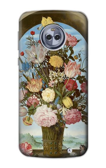 S3749 花瓶 Vase of Flowers Motorola Moto X4 バックケース、フリップケース・カバー