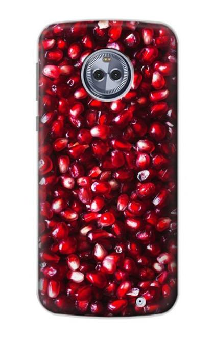 S3757 ザクロ Pomegranate Motorola Moto X4 バックケース、フリップケース・カバー