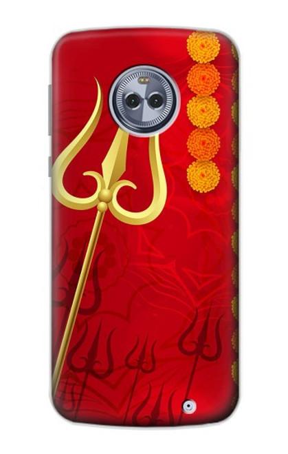 S3788 シブトリシューラ Shiv Trishul Motorola Moto X4 バックケース、フリップケース・カバー