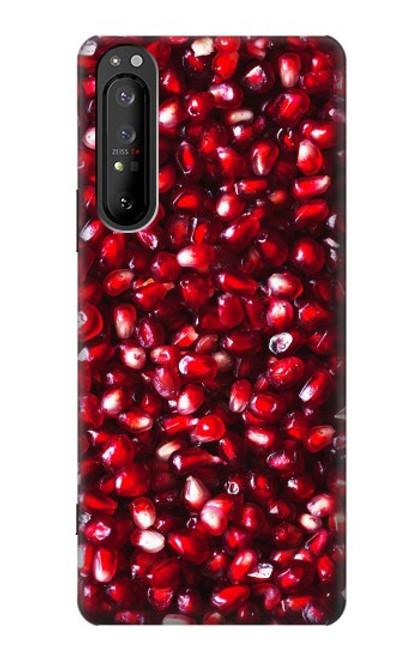 S3757 ザクロ Pomegranate Sony Xperia 1 II バックケース、フリップケース・カバー