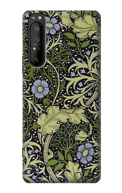 S3792 ウィリアムモリス William Morris Sony Xperia 1 II バックケース、フリップケース・カバー