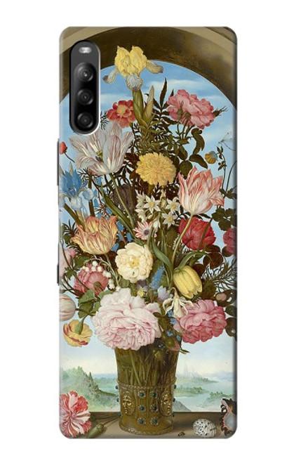 S3749 花瓶 Vase of Flowers Sony Xperia L4 バックケース、フリップケース・カバー