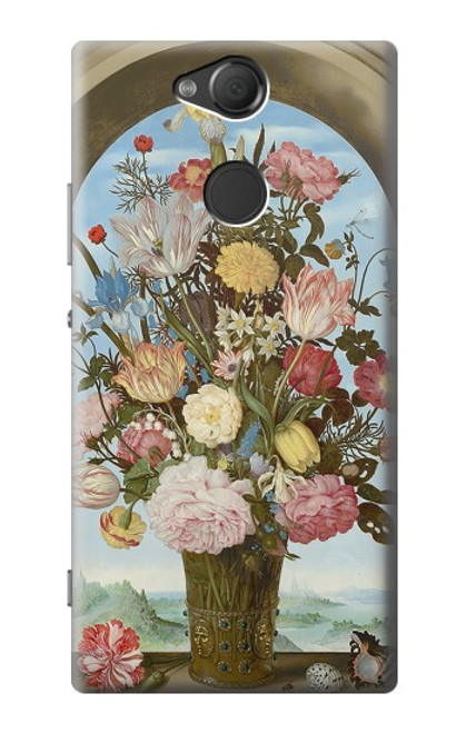 S3749 花瓶 Vase of Flowers Sony Xperia XA2 バックケース、フリップケース・カバー