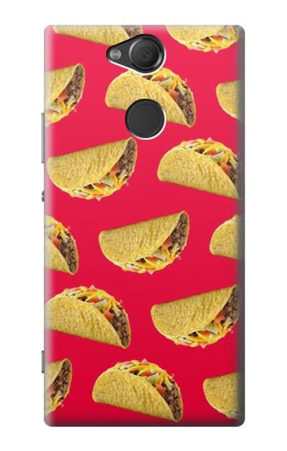 S3755 メキシコのタコスタコス Mexican Taco Tacos Sony Xperia XA2 バックケース、フリップケース・カバー